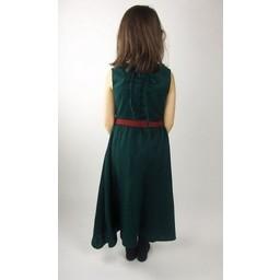 Pigekjole Carmen grøn