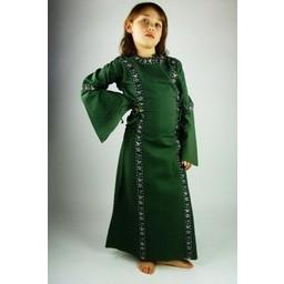 Flickans klänning Cleena grön