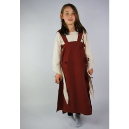 Girl's dress Fand red