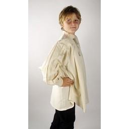 Koszula średniowieczna chłopięca kremowa