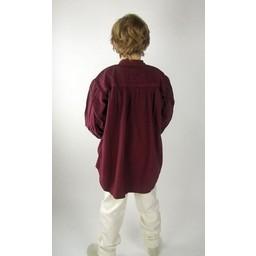 Camisa medieval niño negra