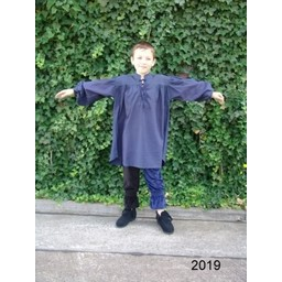 Middeleeuws jongenshemd zwart