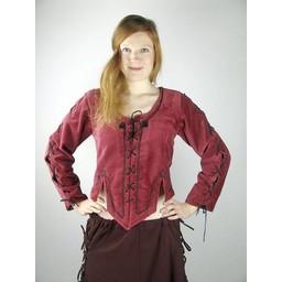 Medieval doublet Grace black