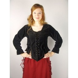Medieval doublet Simone red
