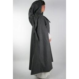 Średniowieczny płaszcz Odelia czarny