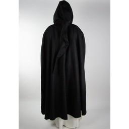 Medieval cloak Odelia black