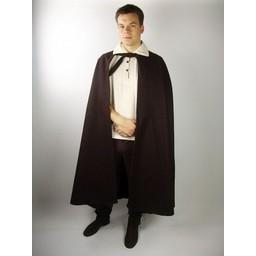 Średniowieczny płaszcz Robin szary