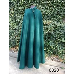 Middeleeuwse mantel Robin groen
