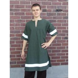 Tunika Marcus grøn-hvid