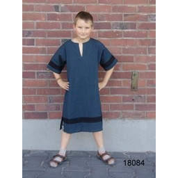 Tunica Marcus per bambini blu-nera