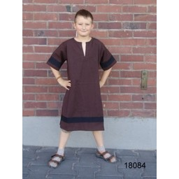 Tunika Marcus dla dzieci czarny-brązowy