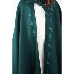 Mantello per bambini in lana Morgan verde