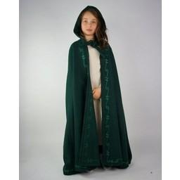Wełniany płaszcz dziecięcy Morgan czarny
