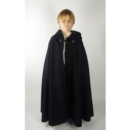 Capa infantil de lana Rowan marrón