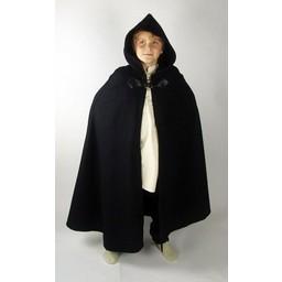 Wełniany płaszcz dziecięcy Rowan zielony