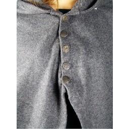 Wollen mantel Catelin grijs