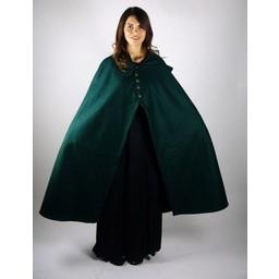 Wełniany płaszcz Catelin zielony
