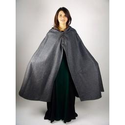 Wollen mantel Catelin zwart