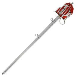 Szkocki miecz Highland Oficerowie