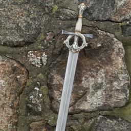Rollespil sværd Highborn Ivory 96 cm