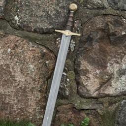 Lajv svärd Knight Gold 87 cm
