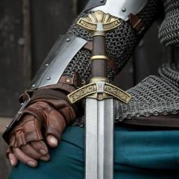 LARP sword Dreki Gold 85 cm