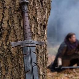 LARP miecz Footman Battleworn 85 cm