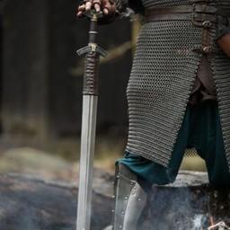 Rollespil sværd Dreki Steel 102 cm