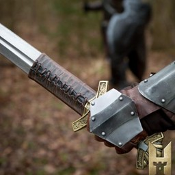 Rollespil sværd Dreki Gold 102 cm