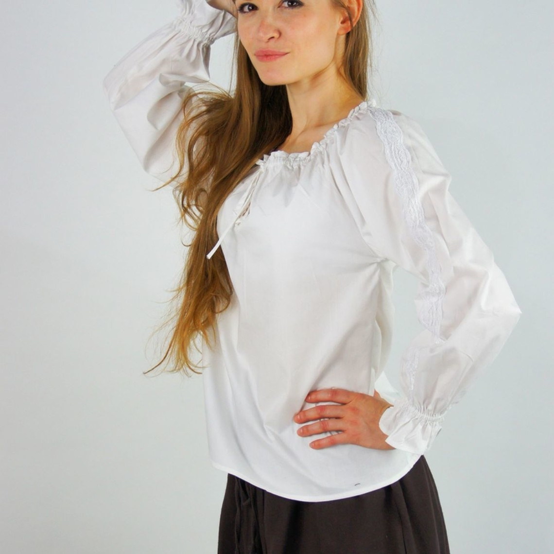 Leonardo Carbone Hemd Fleur wit