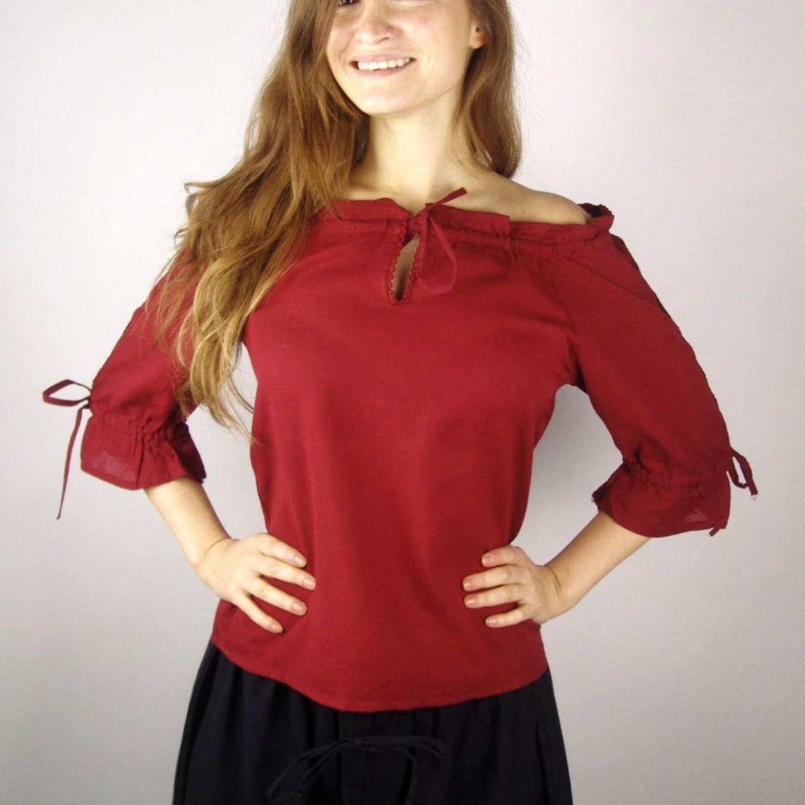 Leonardo Carbone Blouse Julia rood