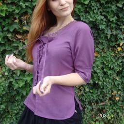 Bluse Claudia lila
