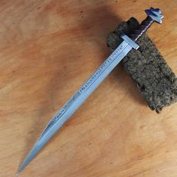 Viking Seax mit Runen British Museum