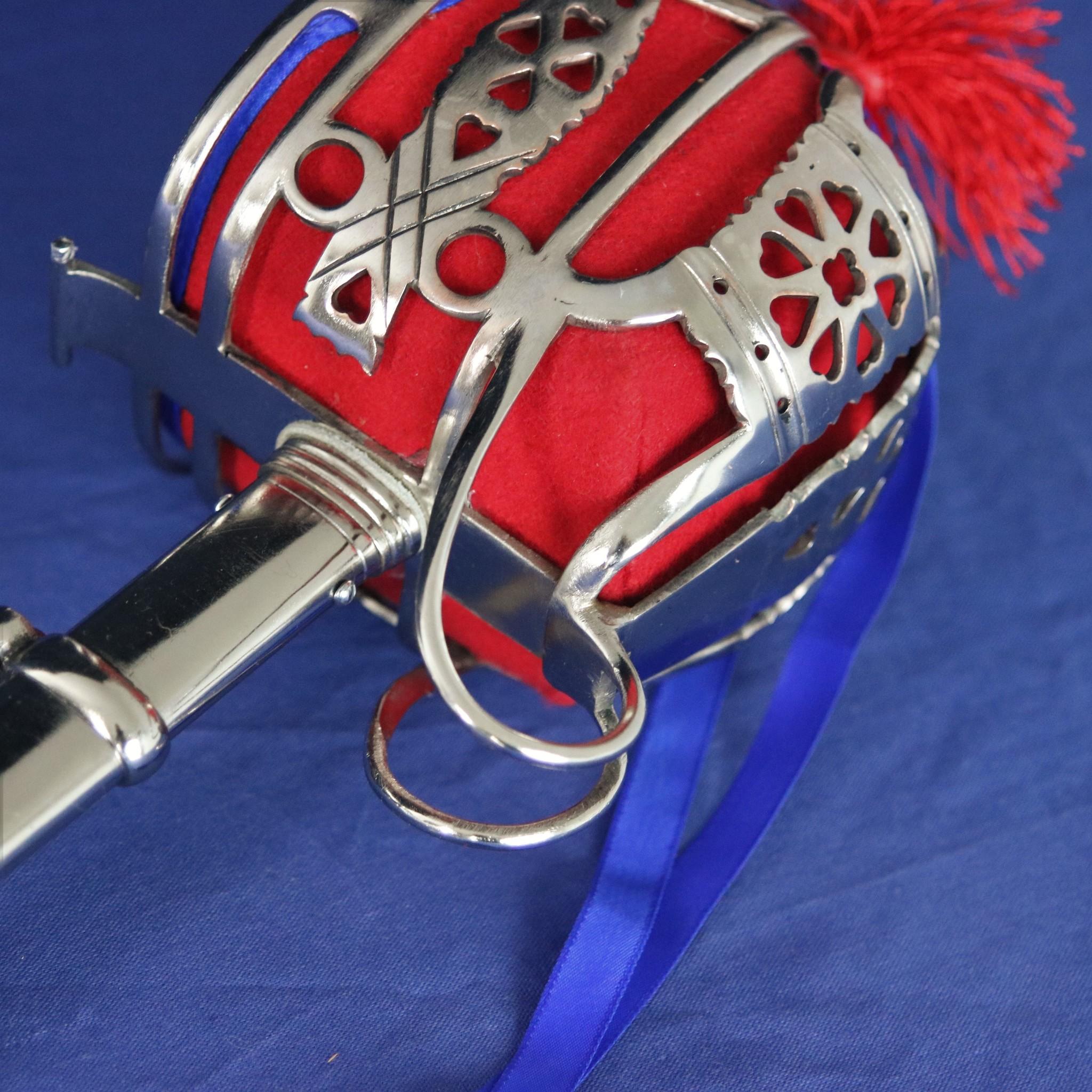 Basket hilted zwaard Highland Officers