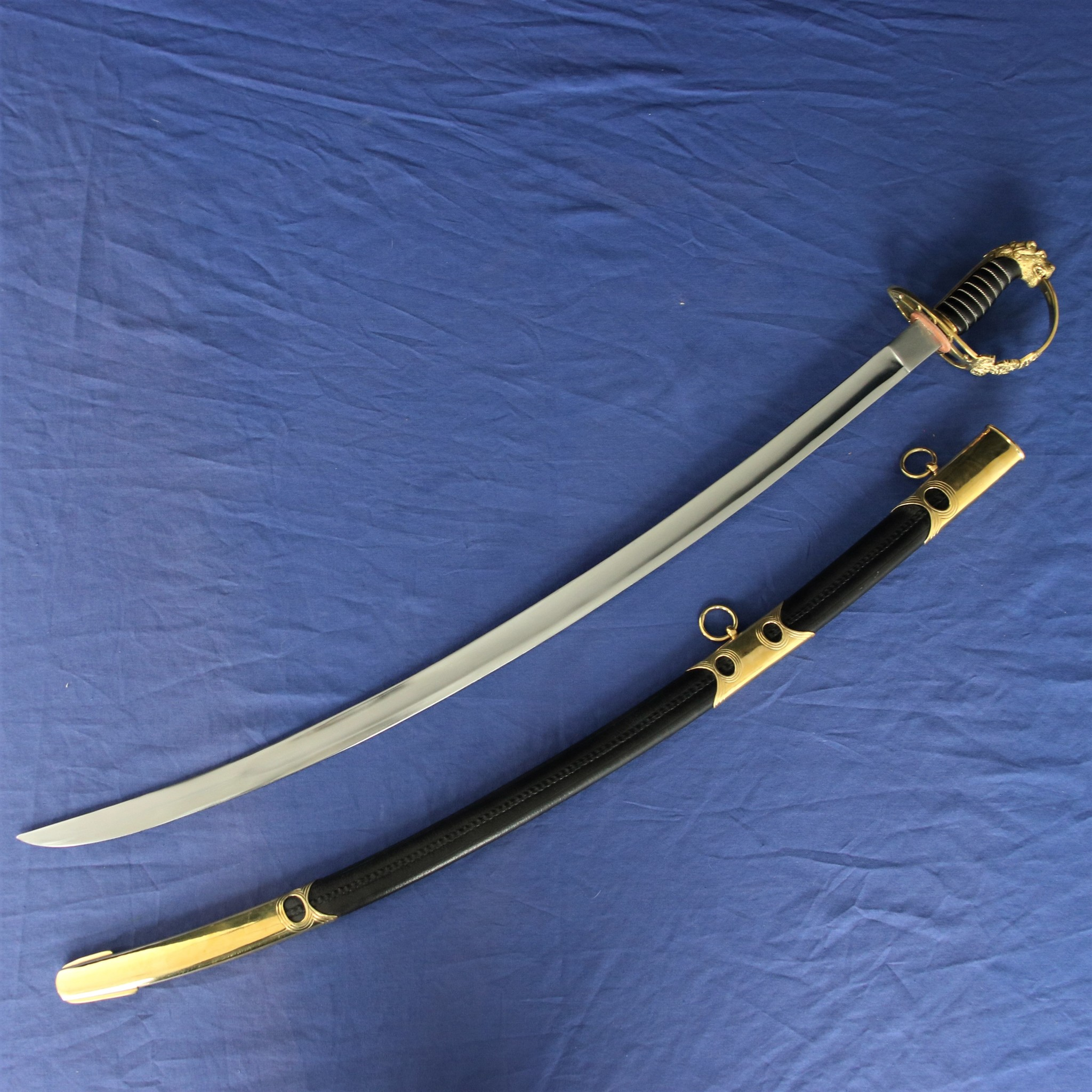 British flank infantry sabre 1803