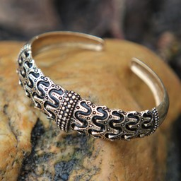 Viking bracelet Orupgård, bronze