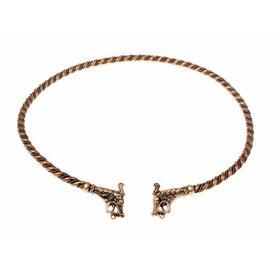 Viking torque Haithabu, bronze