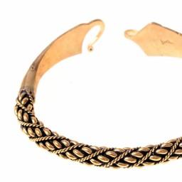 Brazalete vikingo Malvik bronce