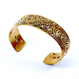 Keltische armband triskelion brons