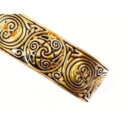 Keltischer Armreif mit Trisquelion, Bronze