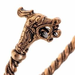 Viking överarm armband Haithabu brons
