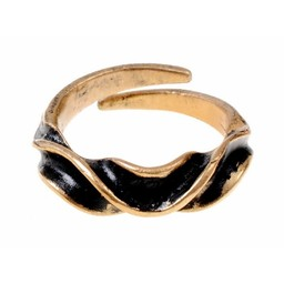 Pierścień Vendel, brąz