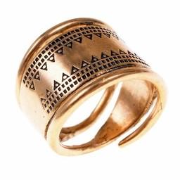 Wikinger Ring Baltisch Bronze