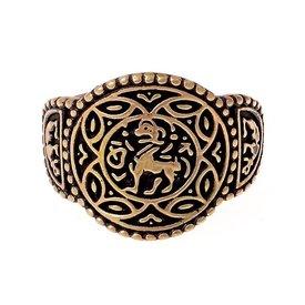Angelsächsische Ring Aethelswith Bronze