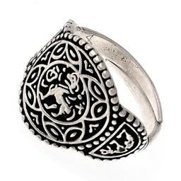 Saxon ring Aethelswith forsølvet