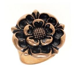 Tudor ring, bronze