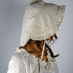 17th-18th century cap Annique cream