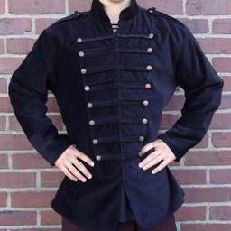 Abrigo marinero siglo XVIII negro