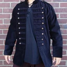 Cappotto da marinaio del XVIII secolo nero