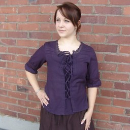 Blouse Claudia paars